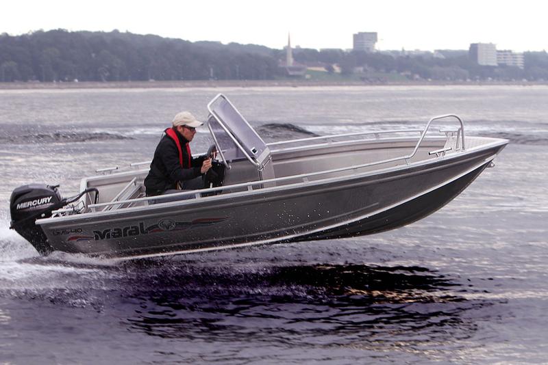 Ongebruikt UMS Tuna 410 CC Aluminium consoleboot | YJ-95
